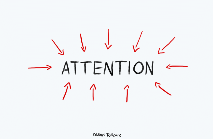 attention - what you Focus on