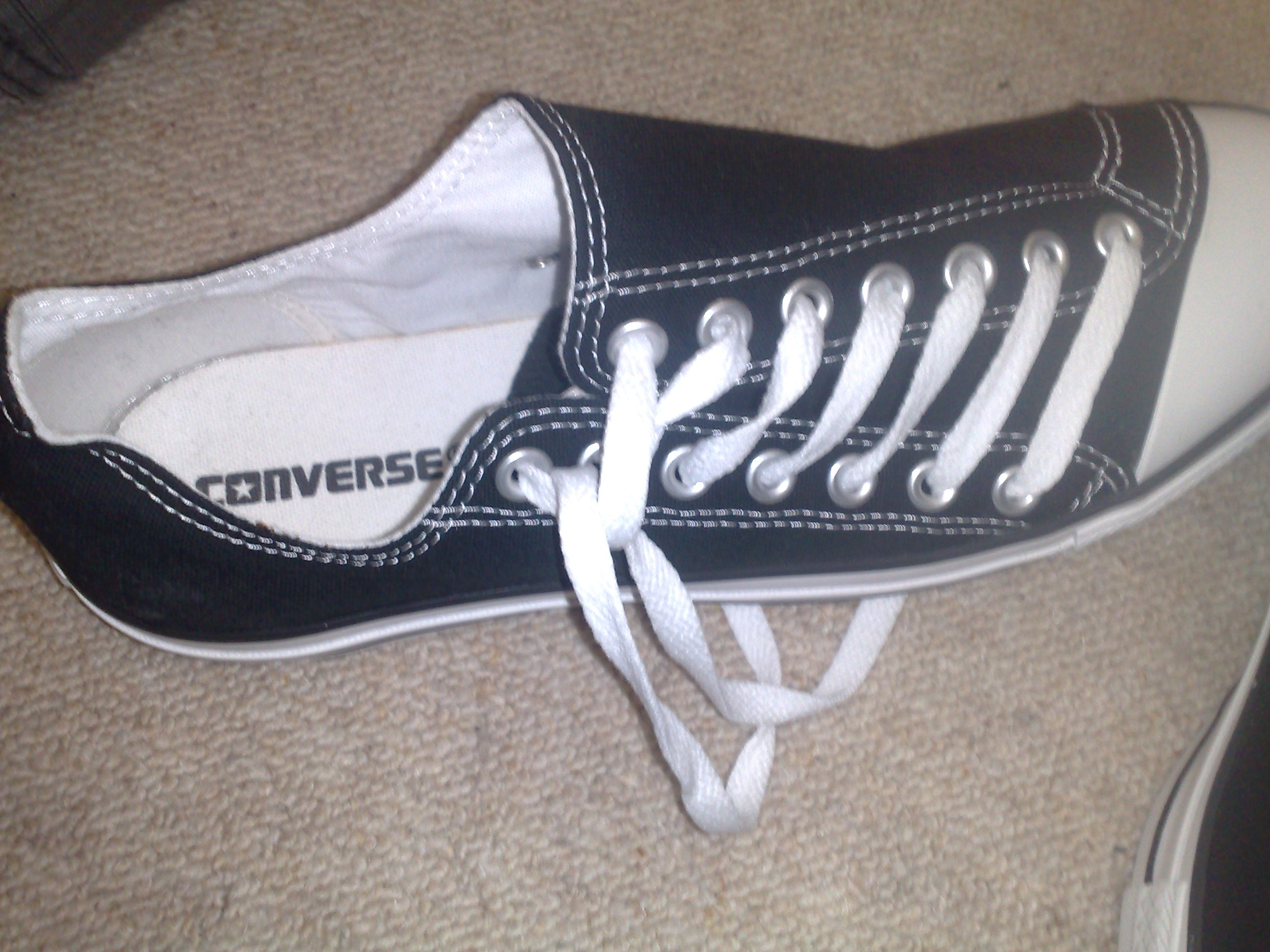 Converse purchased last year - never worn