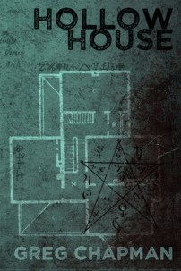The cover for my debut novel, Hollow House