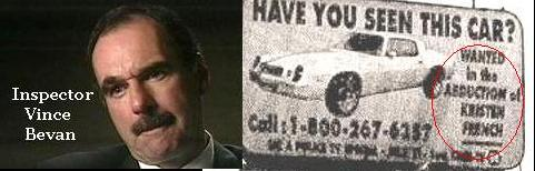 inspector Vince Bevan; the search for the nonexistent Camaro
