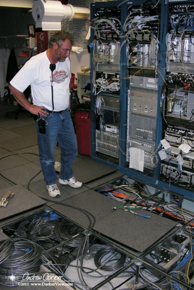 Cabling nightmare in the interferometer control room