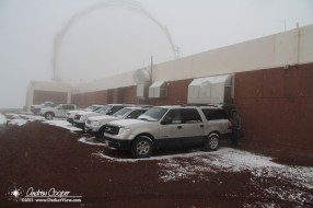 Snowy Parking
