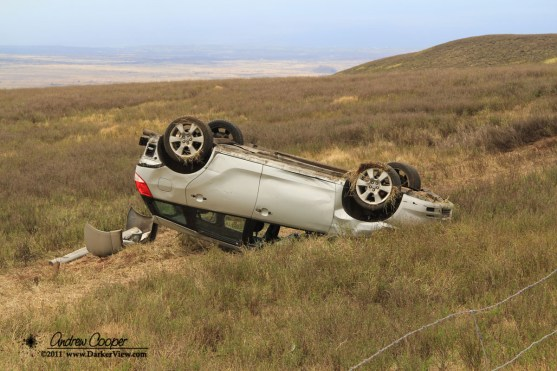 Saddle Road Wreck