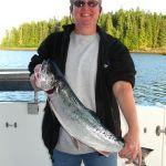 A Silver Salmon