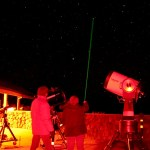 Laser and Stars