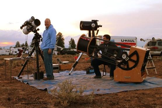 Mark and Telescopes