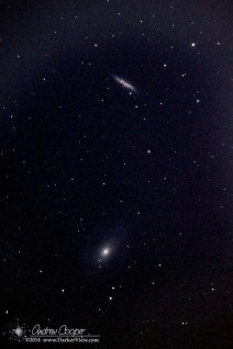 M81 & M82 with SN2014J