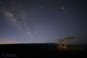 Milky Way Dawn over Mauna Loa