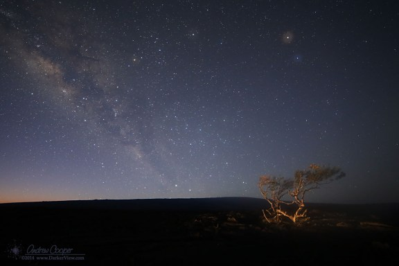 Milky Way Dawn over Mauna Loa