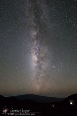 Milky Way over Mauna Loa