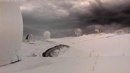 Mauna Kea Summit Storm