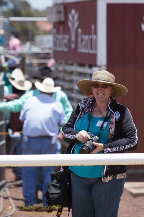 Deb at the Rodeo