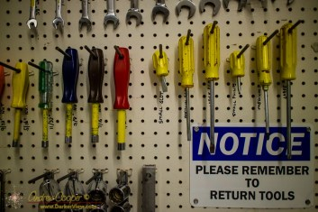 Please Remember to Return Tools