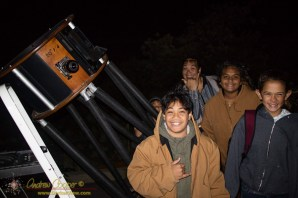 Students Under the Stars