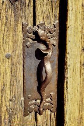 Rattlesnake Door Handle