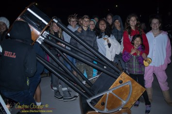 "HPA Students and the 20"" Obsession telescope"