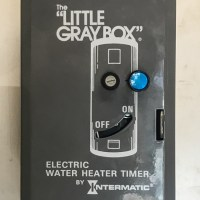 Solar Water Heater Back-Up Timer
