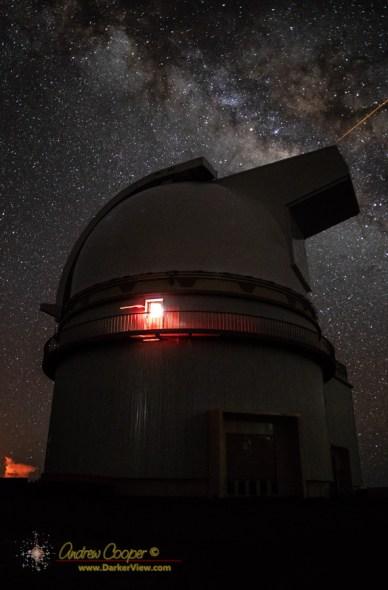 UH88 under the Milky Way