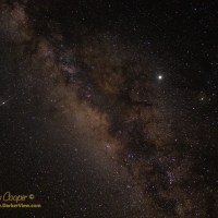 A 30 second tracked shot of the central Milky Way
