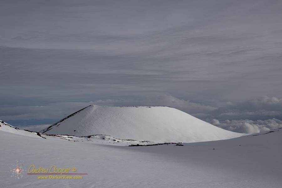 Puʻu Hou Kea in the Snow