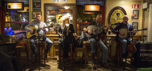 Live music nightly at Darkey Kellys Dublin