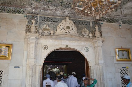 Entrance to tomb