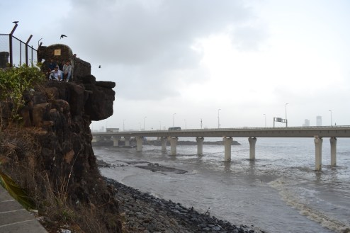 Sea Link from Bandra Fort