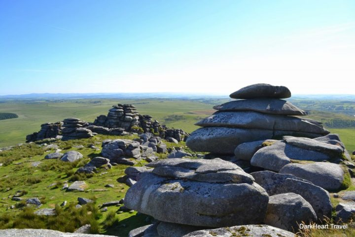 Rocks at Rough Tor summit
