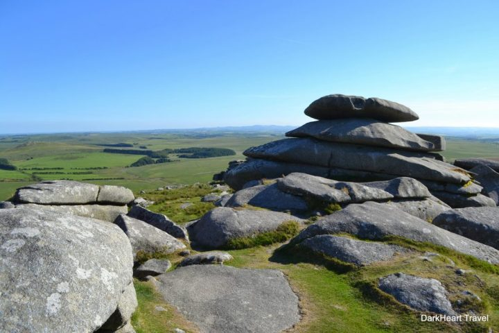 Rough Tor summit