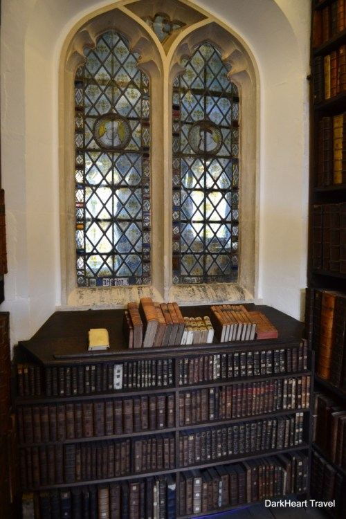 Queens College Old Library window