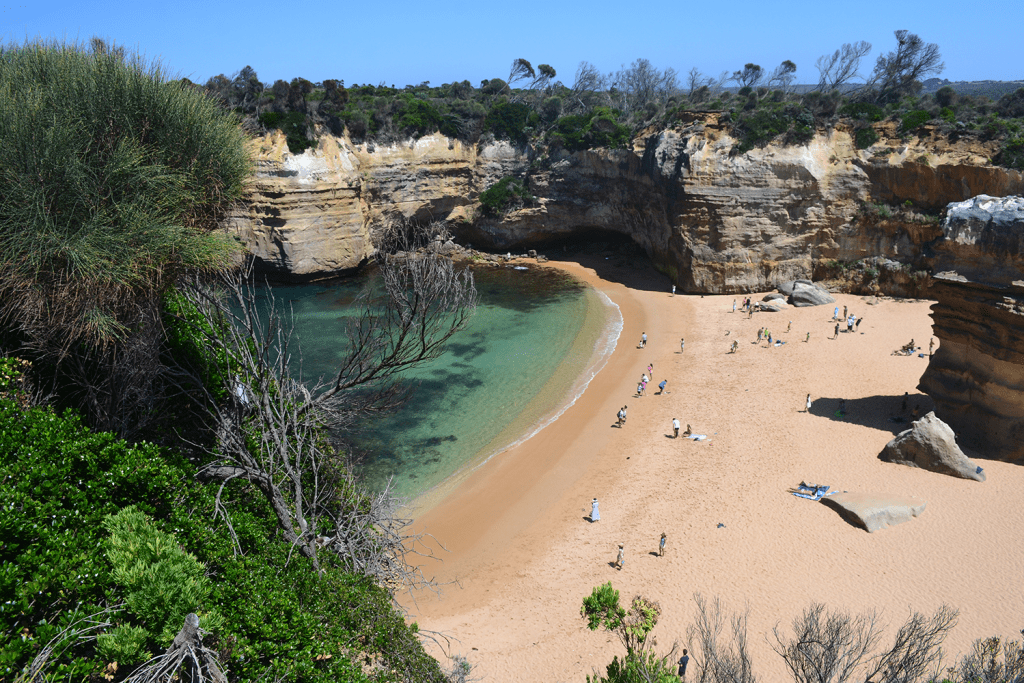 Beach at Loch Ard Gorge