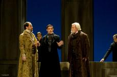 Antoine Bélanger as young Faust, Alexander, and Guy Bélanger as old Faust
