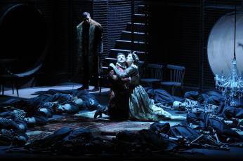 Alexander as Lanceotto Malatesta,Evgeny Liberman as Paolo,Gelena Gaskarova as Francesca