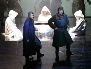 With Plácido Domingo as Macbeth