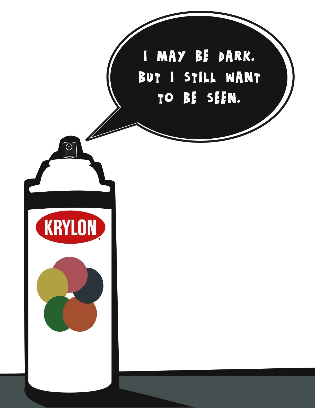krylon-black