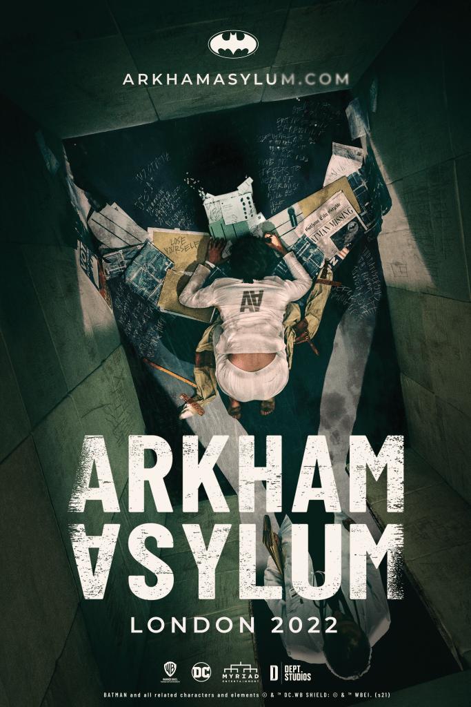 Experience 'Arkham Asylum' in London