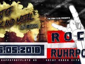 Eskalation ist Pflicht - Rock on Ruhrpott - Dark Clou