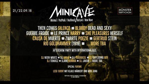 MINI CAVE 2018 – Das Festival