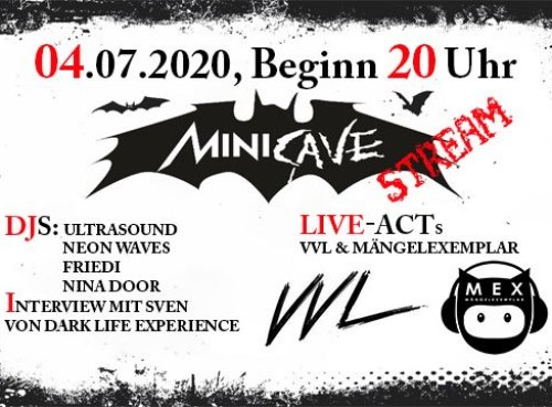 Minicave Live Stream