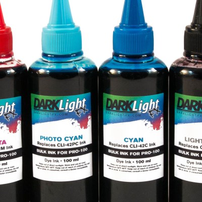 Refillable Ink Bottles for Canon Pro-100