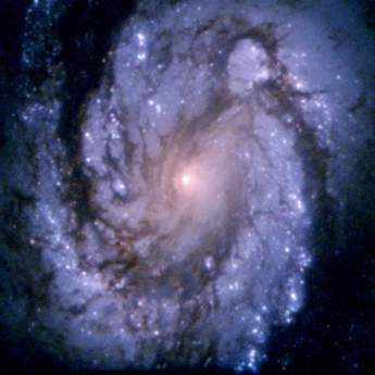 An image of the grand design spiral galaxy M100 obtained with the second generation Wide Field and Planetary Camera. Credit: NASA & ESA 1994