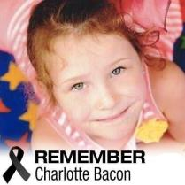 CHARLOTTE BACON TRIBUTE BADGE