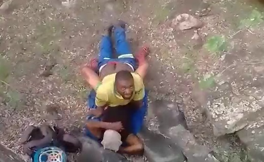 Construction Workers Caught Fucking On Site