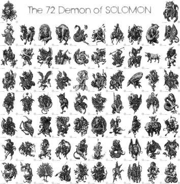 72 Demons of Solomon