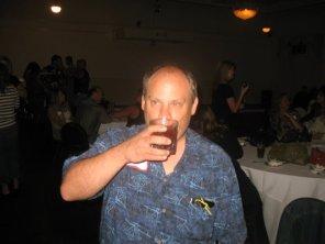 Evan Drinking 2