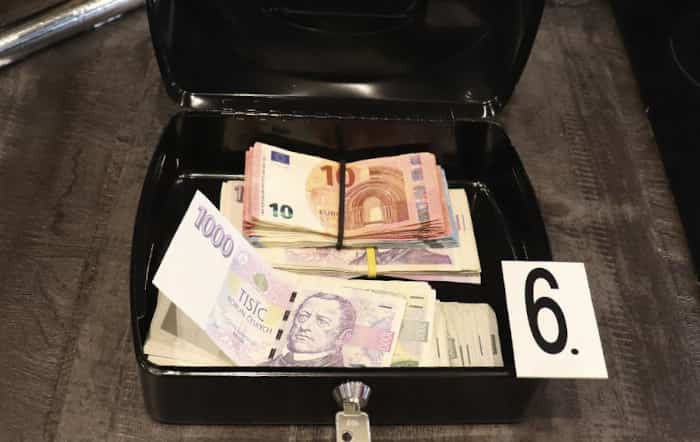 Cash Seized from the Home of a Suspect | Customs