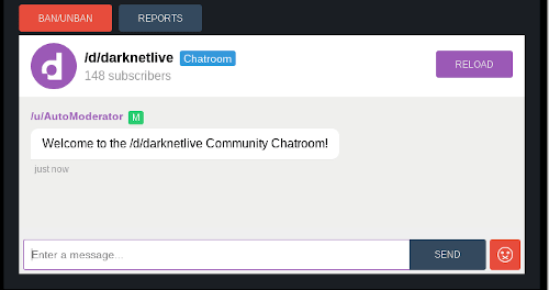 The Chatroom for the Darknetlive Subdread