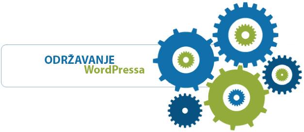 Održavanje I tehnička podrška za WordPress