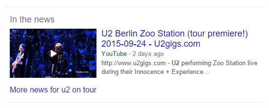 Rezultati google plus pretraživanja