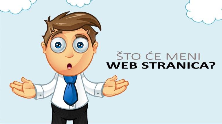 Zašto mi treba web stranica ?